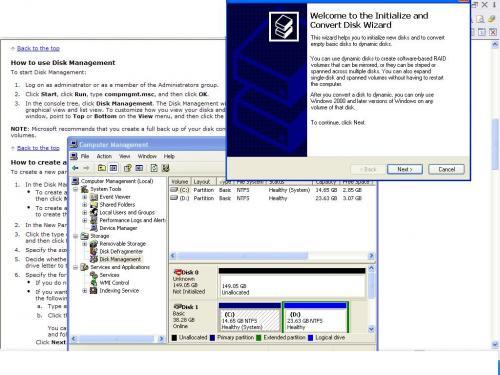 install hard disk